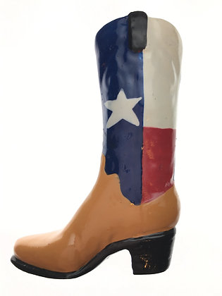 Texas Cowboy Boot Magnet