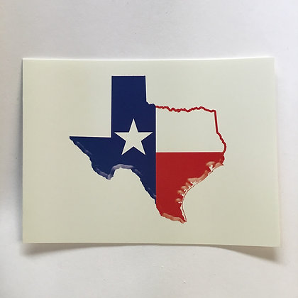 Notecards Texas State Flag