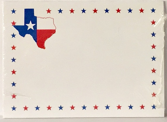 Post It Note Texas Flag