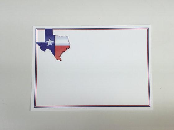 Texas Flag Invitation