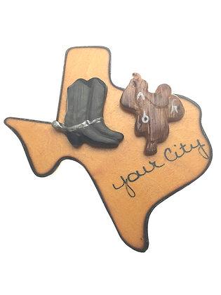 Cowboy Magnet