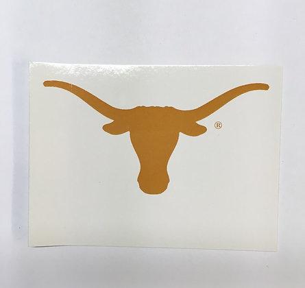 Notecards UT Longhorn Orange on White