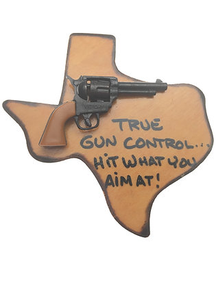 True Gun Control Magnet