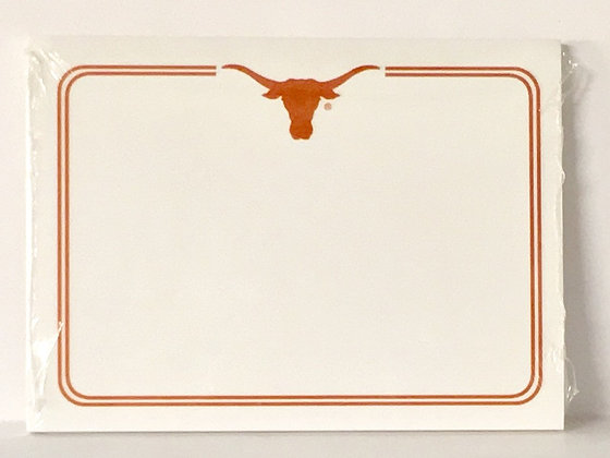 Post It Note UT Longhorn