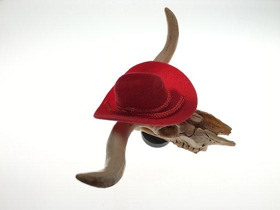 Skull wearing Cowboy Hat Magnet