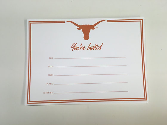 University of Texas Invitation FI