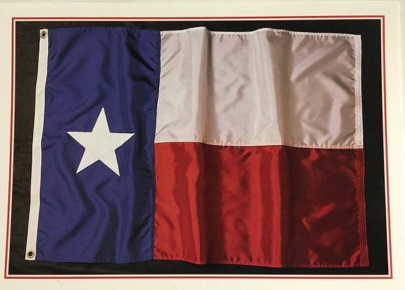 Texas Flag Blank Card