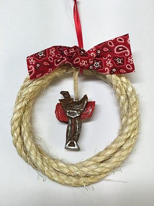 Rope Saddle Ornament