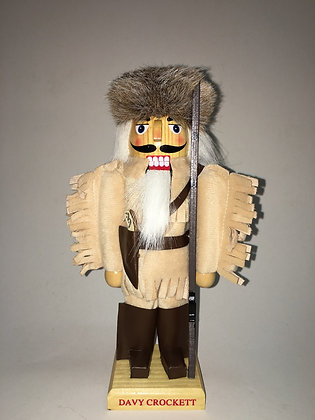 Davy Crockett Nutcracker