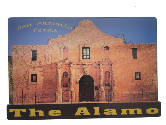 The Alamo Metal Magnet