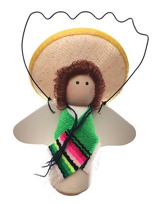 Sombrero Angel Ornament