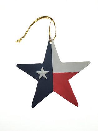 Texas Star Ornament