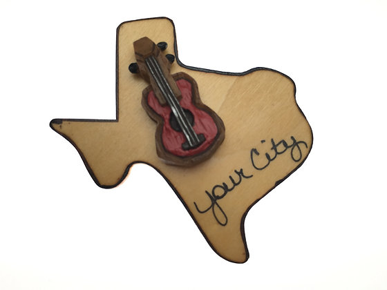 Guitar on Texas Magnet