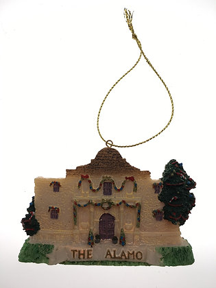 Alamo Holiday Ornament