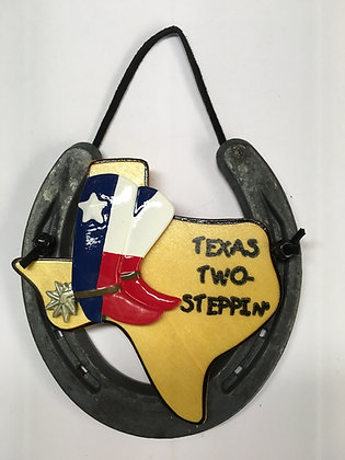 Texas Boots Flag - Texas Two Steppin'