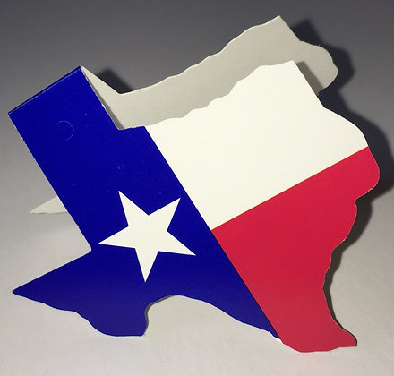 Texas State Flag Gift Tag