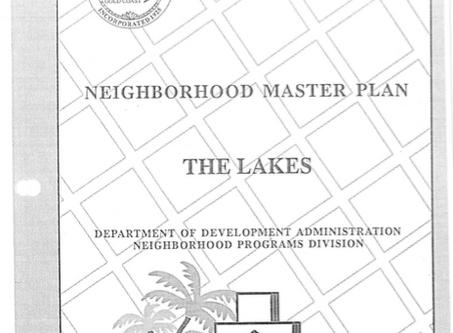 The Lakes Master Plan