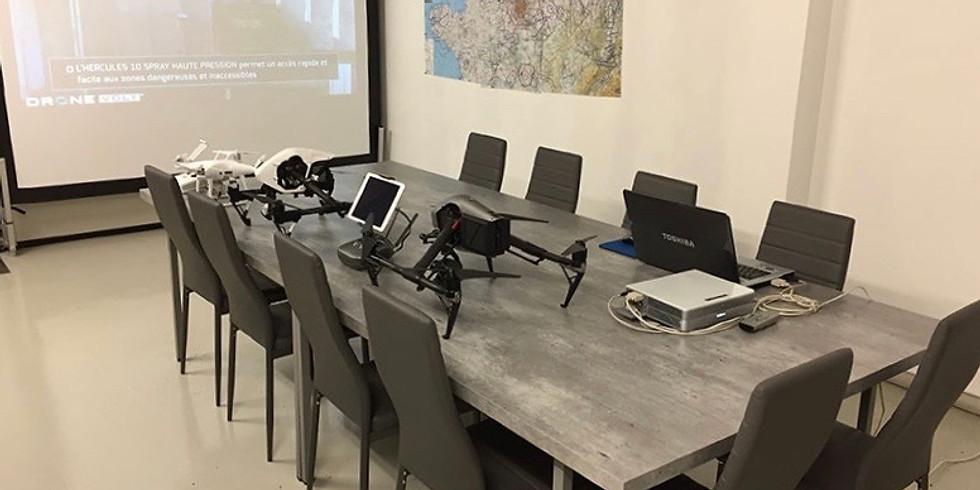Formation télé-pilote de Drone