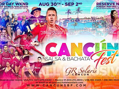 2018 Cancun Salsa Bachata Festival