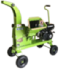 Yardbeast 2510 wood chipper with hand tow