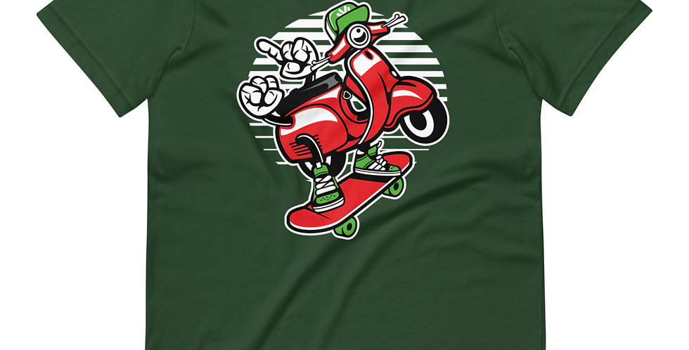Scooter Skater Tee