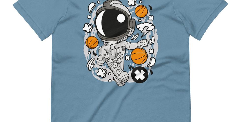 Astronaut Basketball Tee