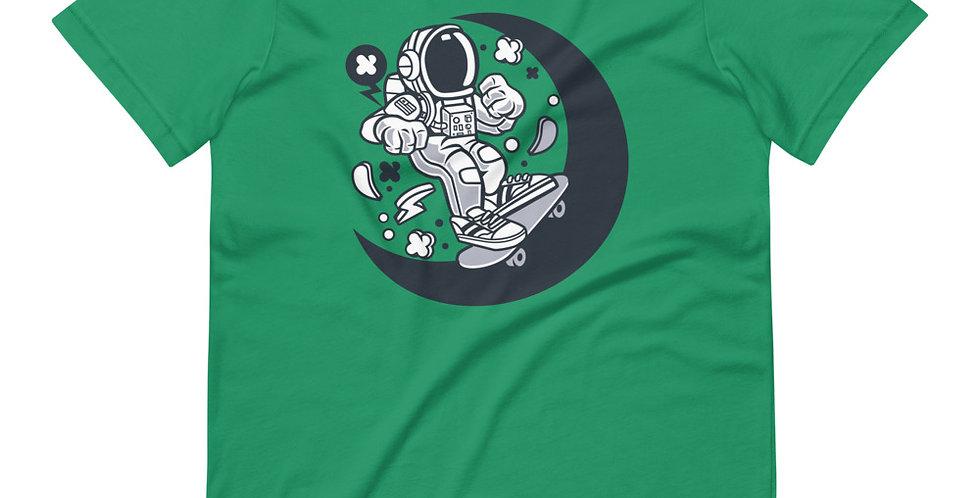 Astronaut Skate Moon Tee