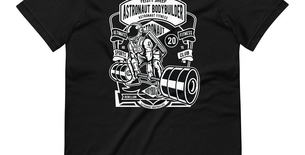 Astronaut Body Builder Tee