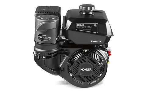 Kohler engine CH395 powered wood chipper