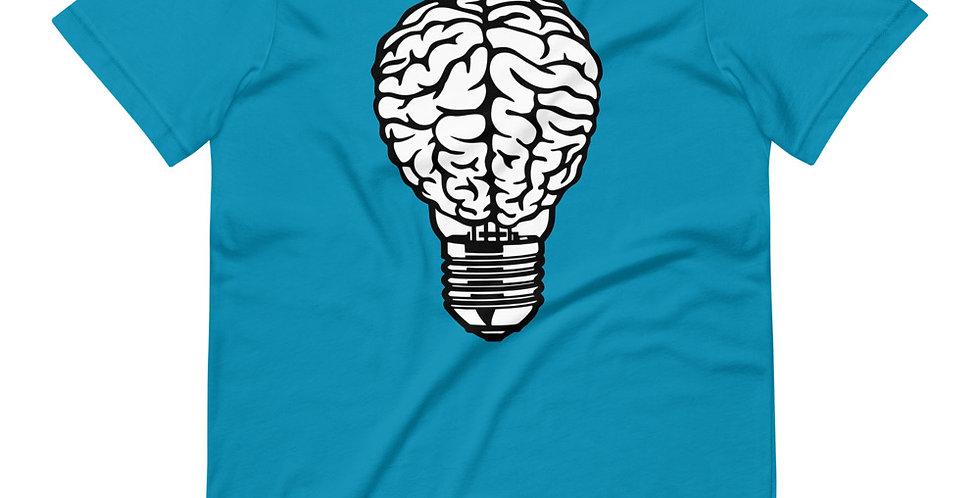 Brain Lightbulb Tee