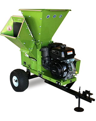 3.5 inch wood chipper shredder with ATV towing kit