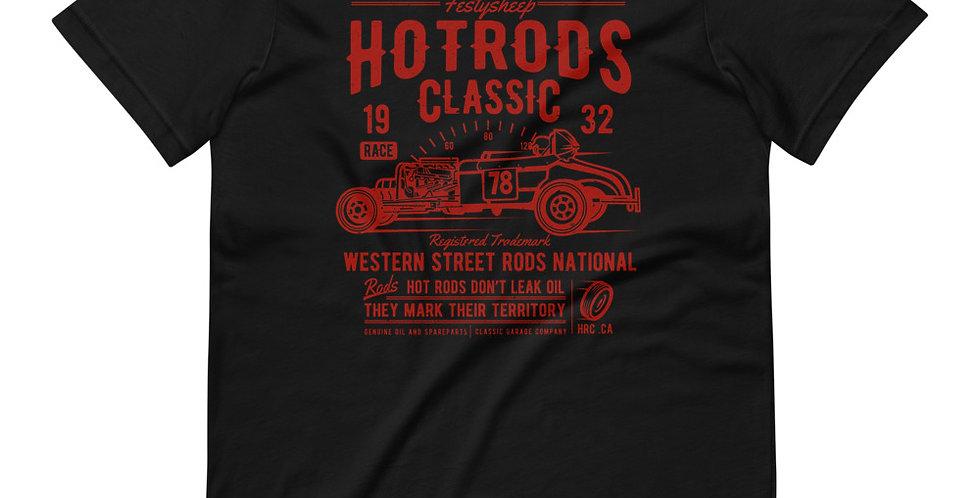 Hot Rods Race Classic Tee