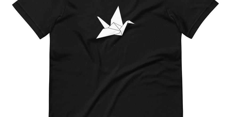 Origami Black Tee