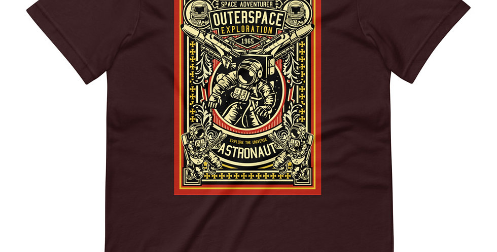 Astronaut Ourterspace Exploration Tee