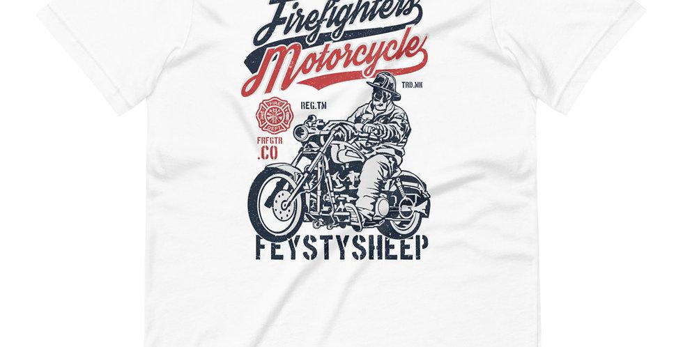 Firefighters Motorcycle Tee