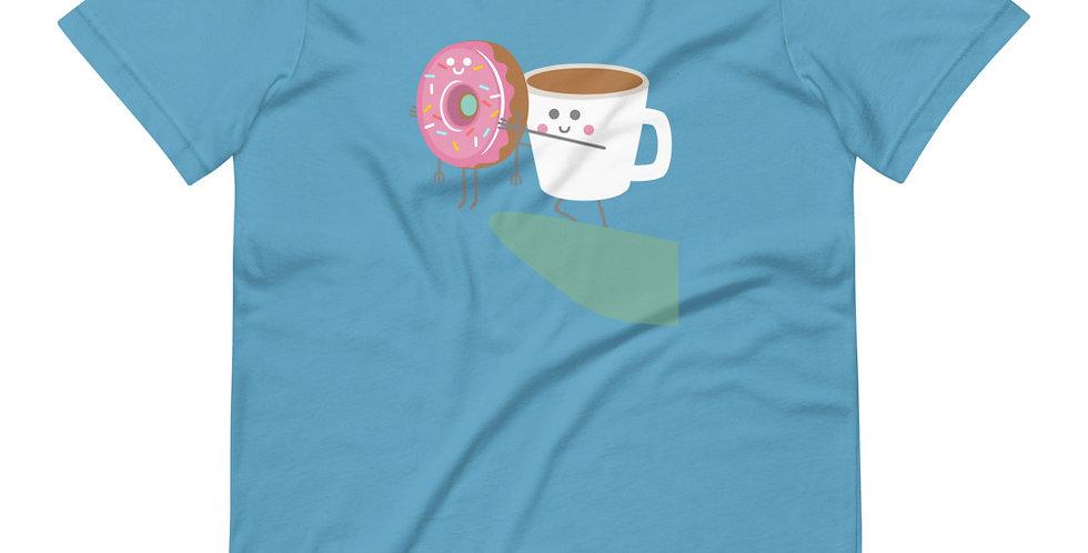 Coffee And Donut Tee