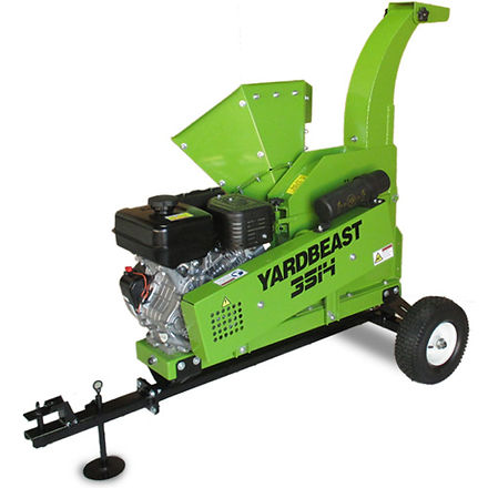 Here is the Yardbeast 3514 assembled with an ATV tow kit