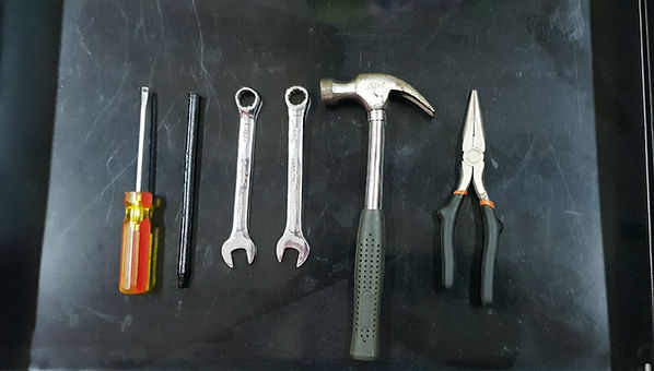 tools for chipper