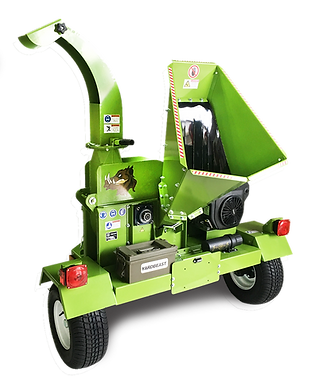 4.5 inch commercial grade wood chipper highway towable DOT