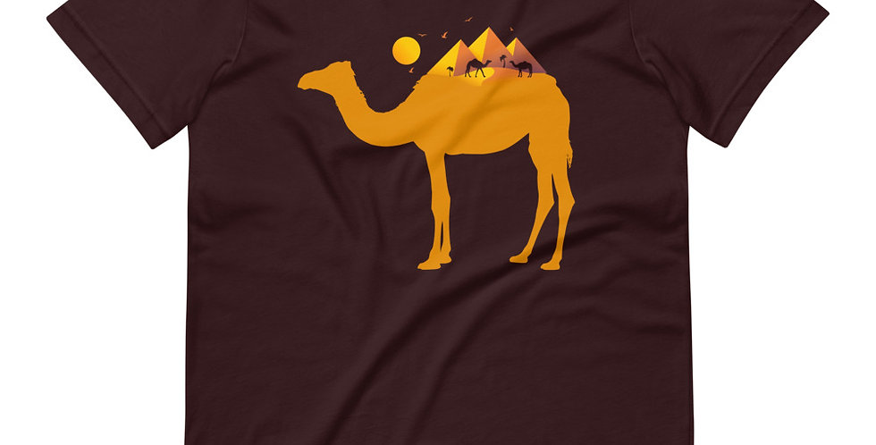 Camel Pyramid Tee