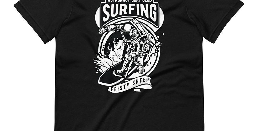 Astronaut Surfing Tee