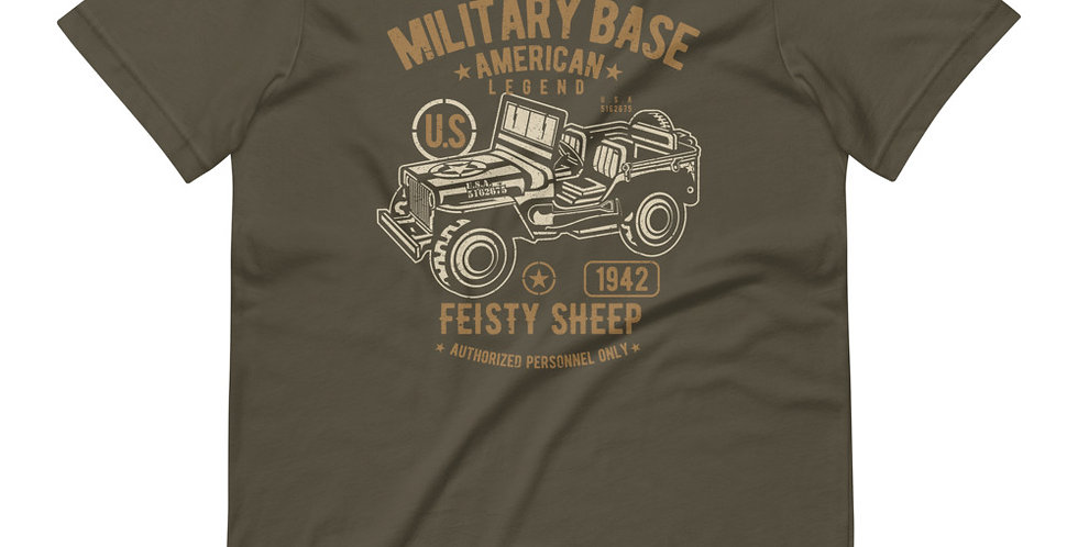American Army Jeep Tee