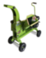 2.5 inch wood chipper with hand tow kit powered by 9.0 horsepower Kohler engine