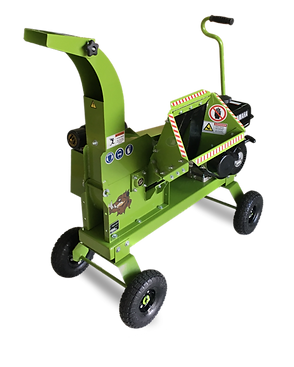 2510 home use wood chipper with hand tow kit powered by 9.0 horsepower Kohler engine