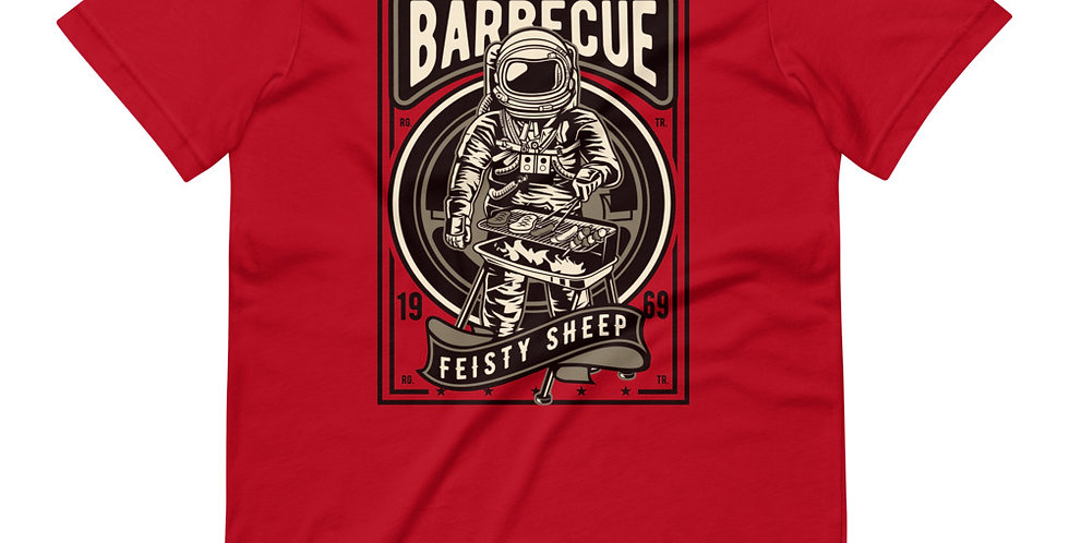 Astronaut Space Barbeque Tee