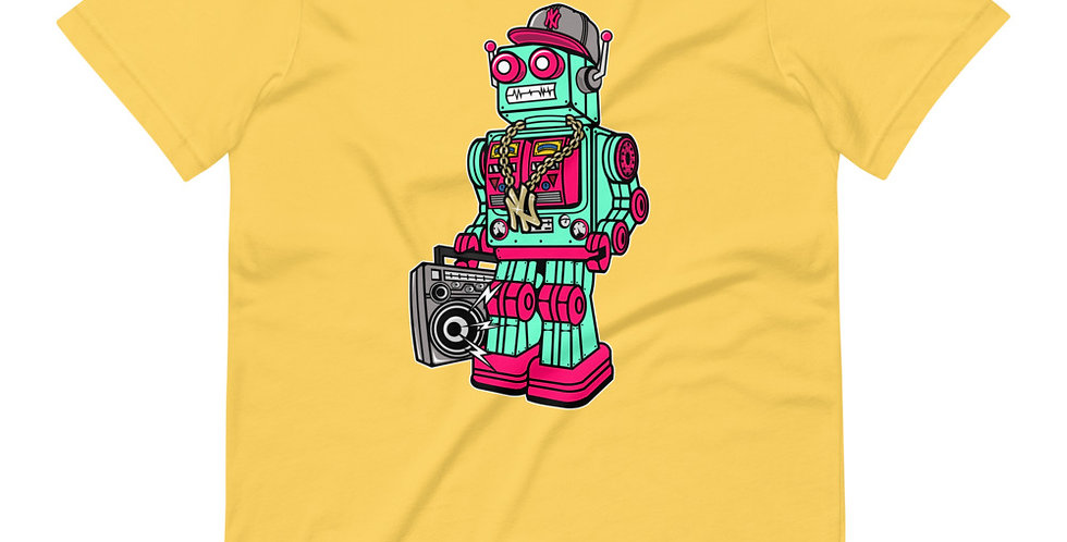 Robot Boombox Tee