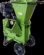 3 inch wood chipper shredder with Kohler 9.5HP engine