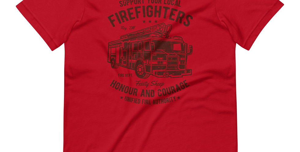 Fire Fighters Truck Tee