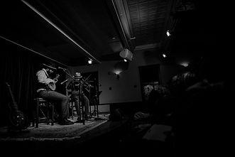 Joe and Ben perform on Cape Cod  photo by Joe Navs