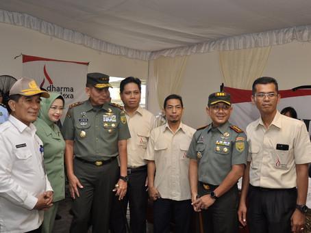 """Baksos Bersama KODAM II Sriwijaya warnai peringatan """"Hari Juang Kartika ke-74″ di Palembang"""